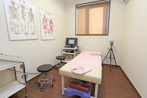 完全個室の診察室