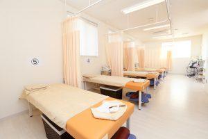 あお整骨院の施術室